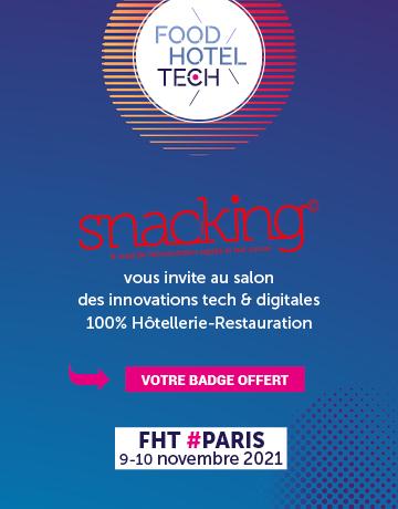 Votre badge gratuit pour Food Hotel Tech 2021