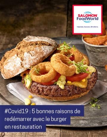 5 bonnes raisons de redémarrer son restaurant avec le burger !